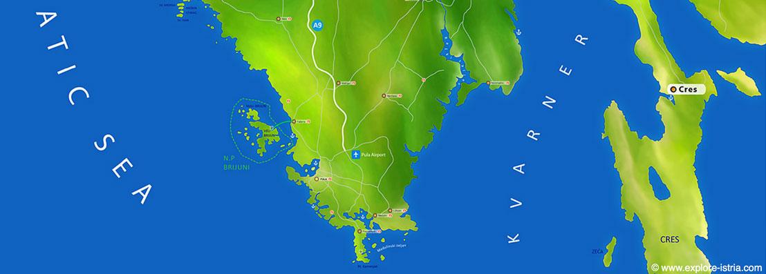 Karta Istre
